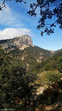 Monte Cabal desde el passet de la Rabosa
