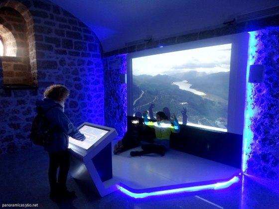 Una de las salas del cosmolarium