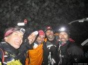 El equipo al completo. De izquierda a derecha: Anaya, yo, Javi, Mercuri y Roy