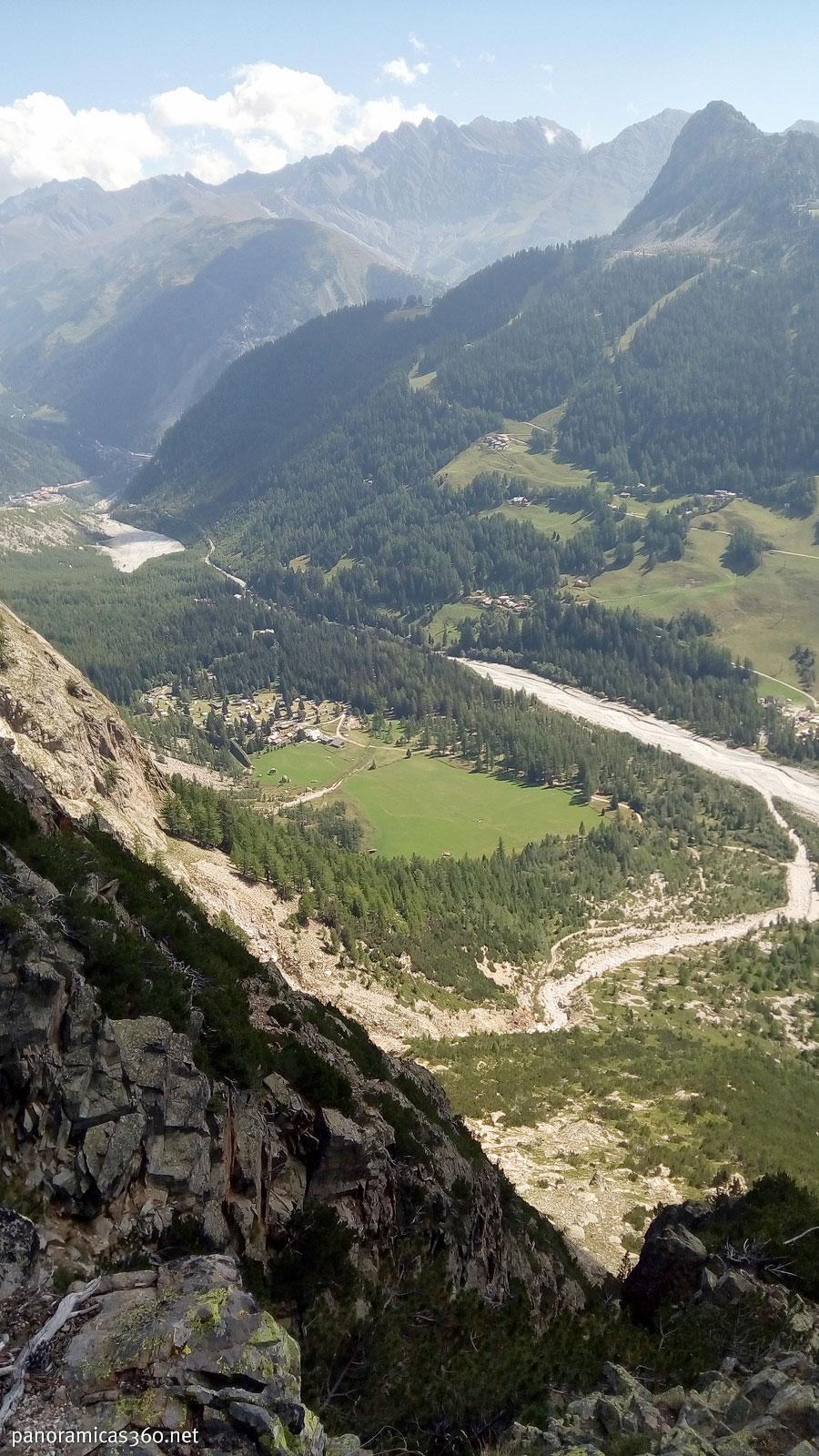 Vall Veny desde la vía ferrata de Borelli