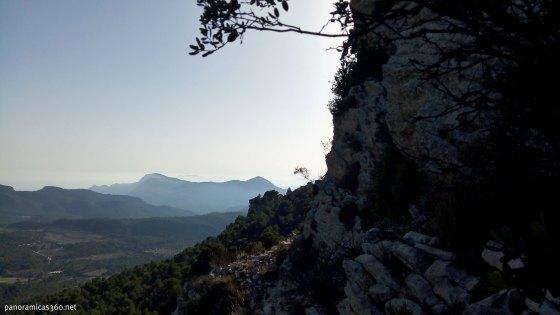 Sierra del Cid vista desde la norte del Despeñador