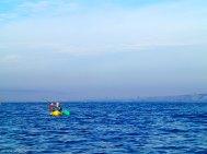Isidoro en el kayak