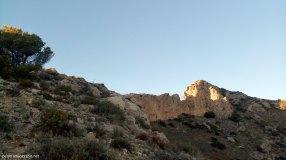Cresta en la parte alta del Cabeçó d´Or