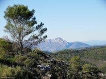 Vistas de la sierra de Benicadell