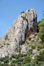 Vista general de la cresta del Castellar