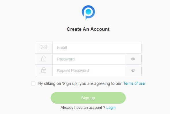 Create PanSpy Account