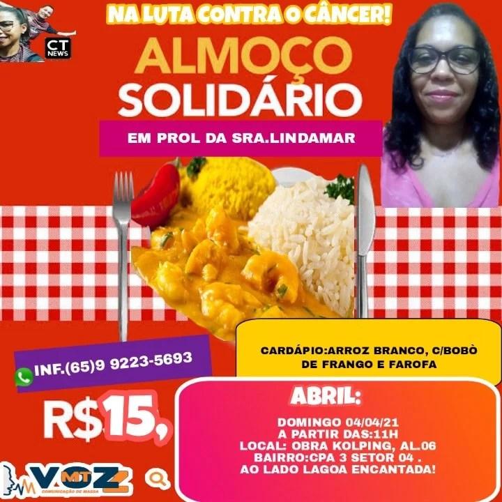 almoco solidario