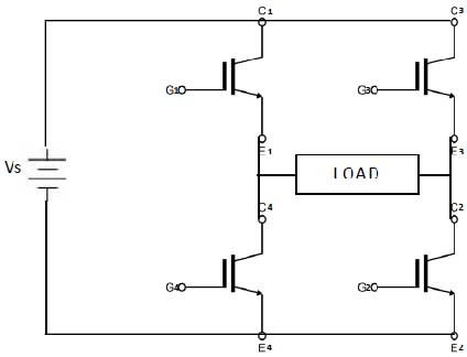 IGBT Based Single Phase Inverter