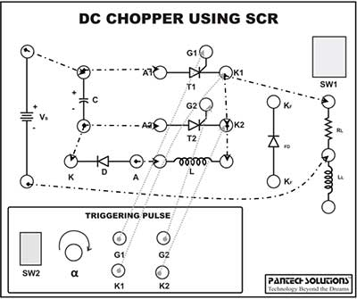 DC Chopper using SCR