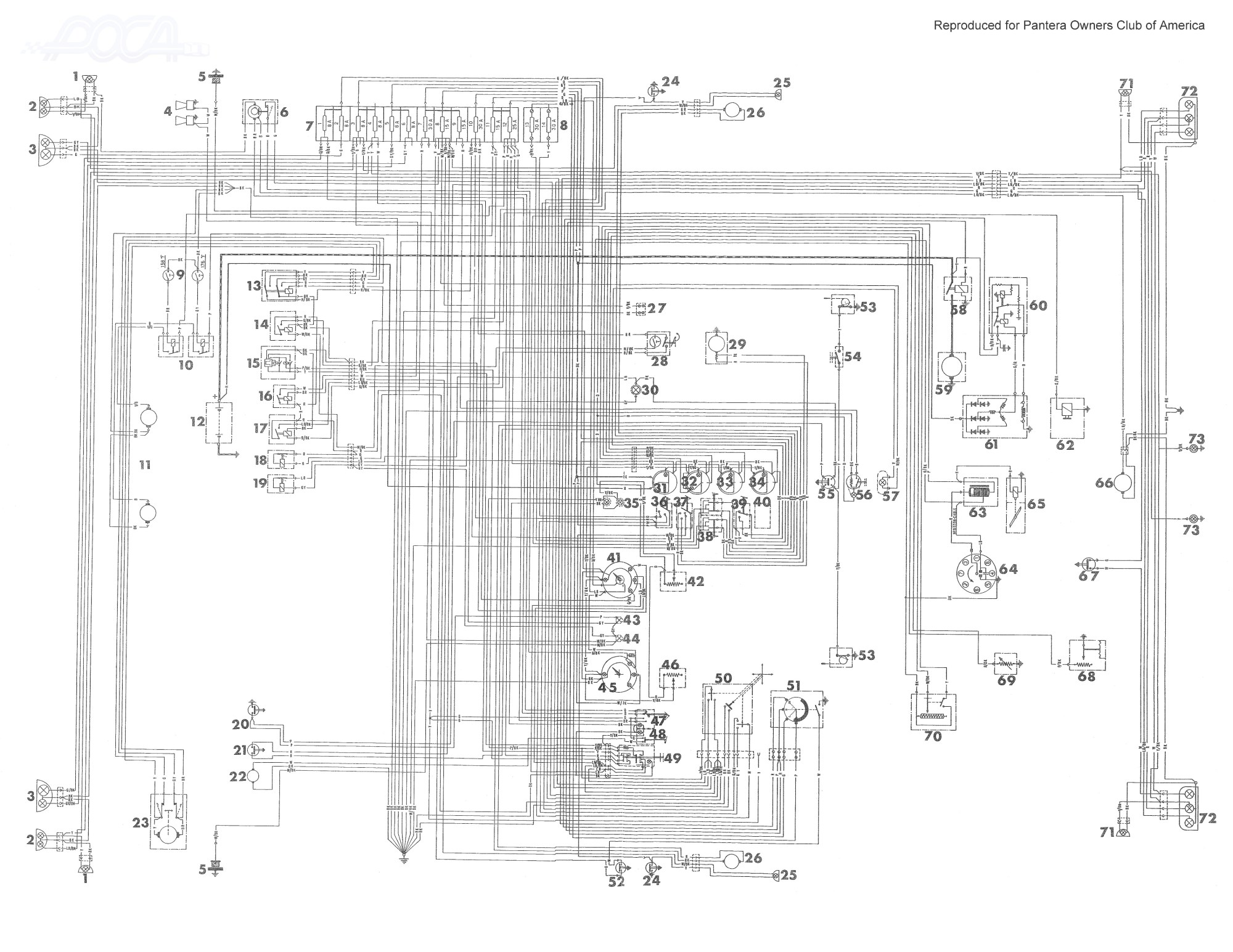 hight resolution of electrical diagrams wire diagram 98 ski doo touring detomaso pantera wiring diagram