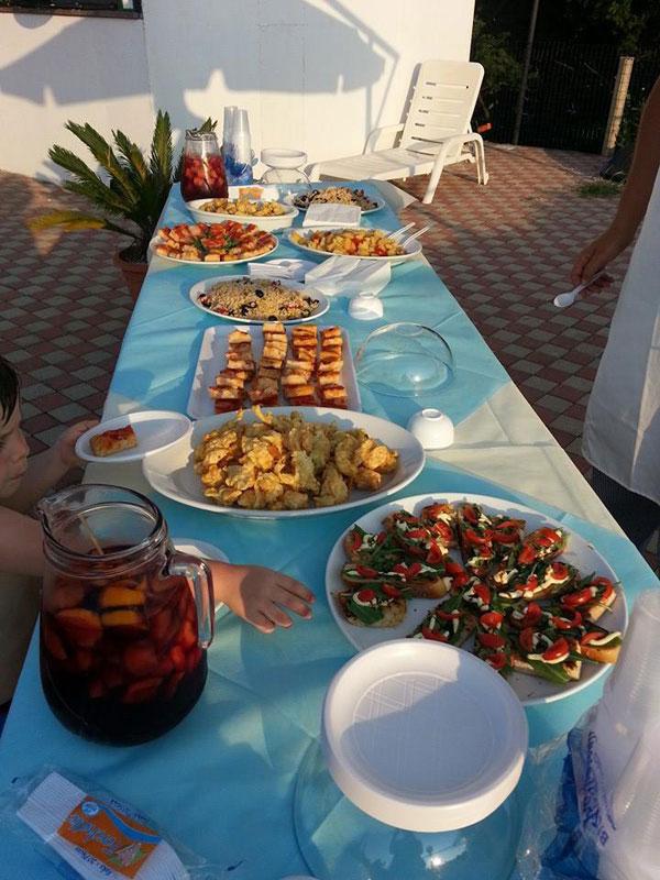 Pantera Rosa Village direttamente sul mare a Scalea in Calabria