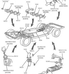 below are some parts diagrams for original equipment ford exhaust system service parts that can be purchased at your local ford dealer  [ 1721 x 2185 Pixel ]