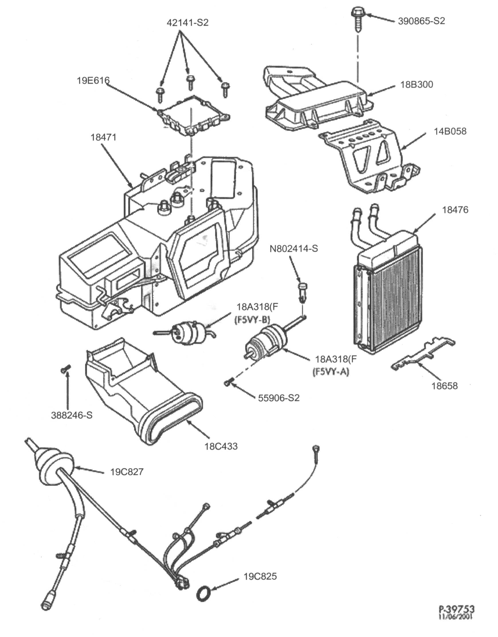 2000 ford explorer door diagram leg muscle labeled heater core expedition fuse wiring library