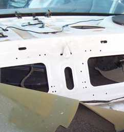 above a a few pictures of wrecked crown victoria police cruiser rear parcel shelves the blue cruiser is a 00 the white a 99 and the silver an 01  [ 1426 x 679 Pixel ]