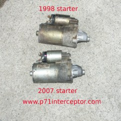 2006 F150 Starter Wiring Diagram Toyota Corolla Electrical Ford Crown Victoria P71 4 6l 3 Bolt Replacement