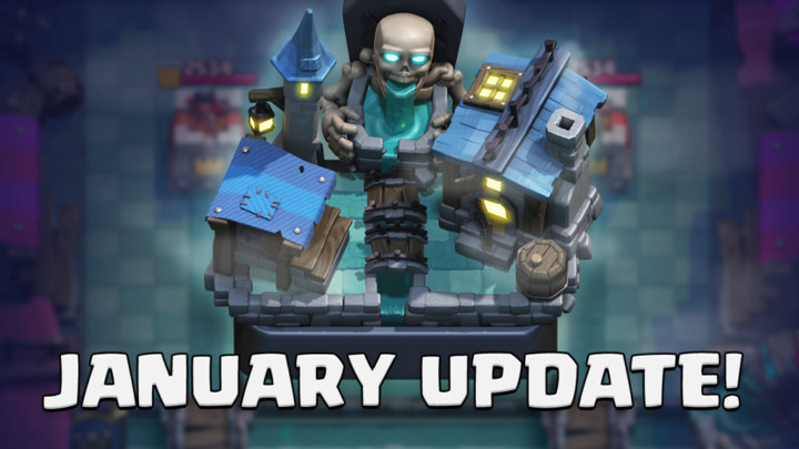 Clash Royale January Update