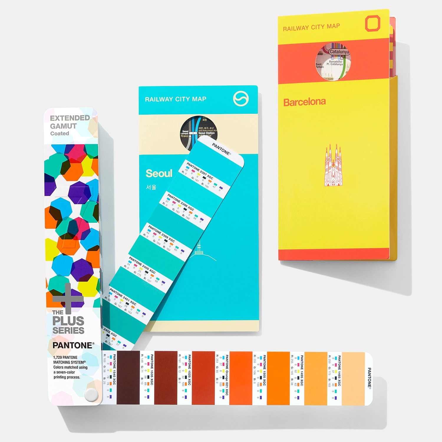 hight resolution of pantone extended gamut guide process colors page