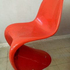 Panton S Chair Good Cheap Gaming Chairs Pantons Prototype The Verner Collector