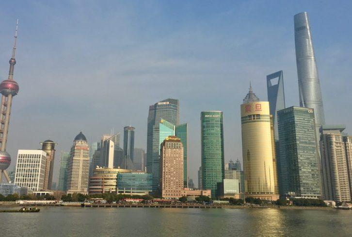 Ville de Shanghai en Chine ou je suis expatriée