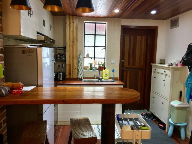 shanghai, cuisine, logement