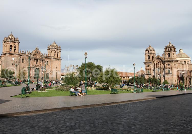 cuzco, cusco, pérou, place des armes