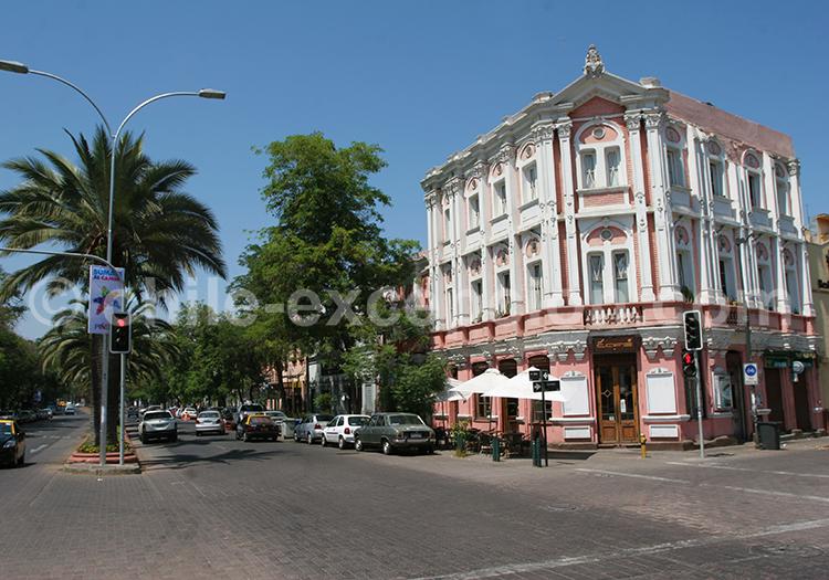santiago, chili, quartier brasil