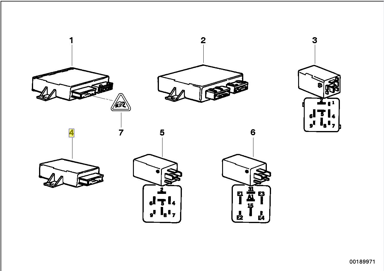 BMW E36 M3 SMG Gear Indicator ECU Control Unit 2228396
