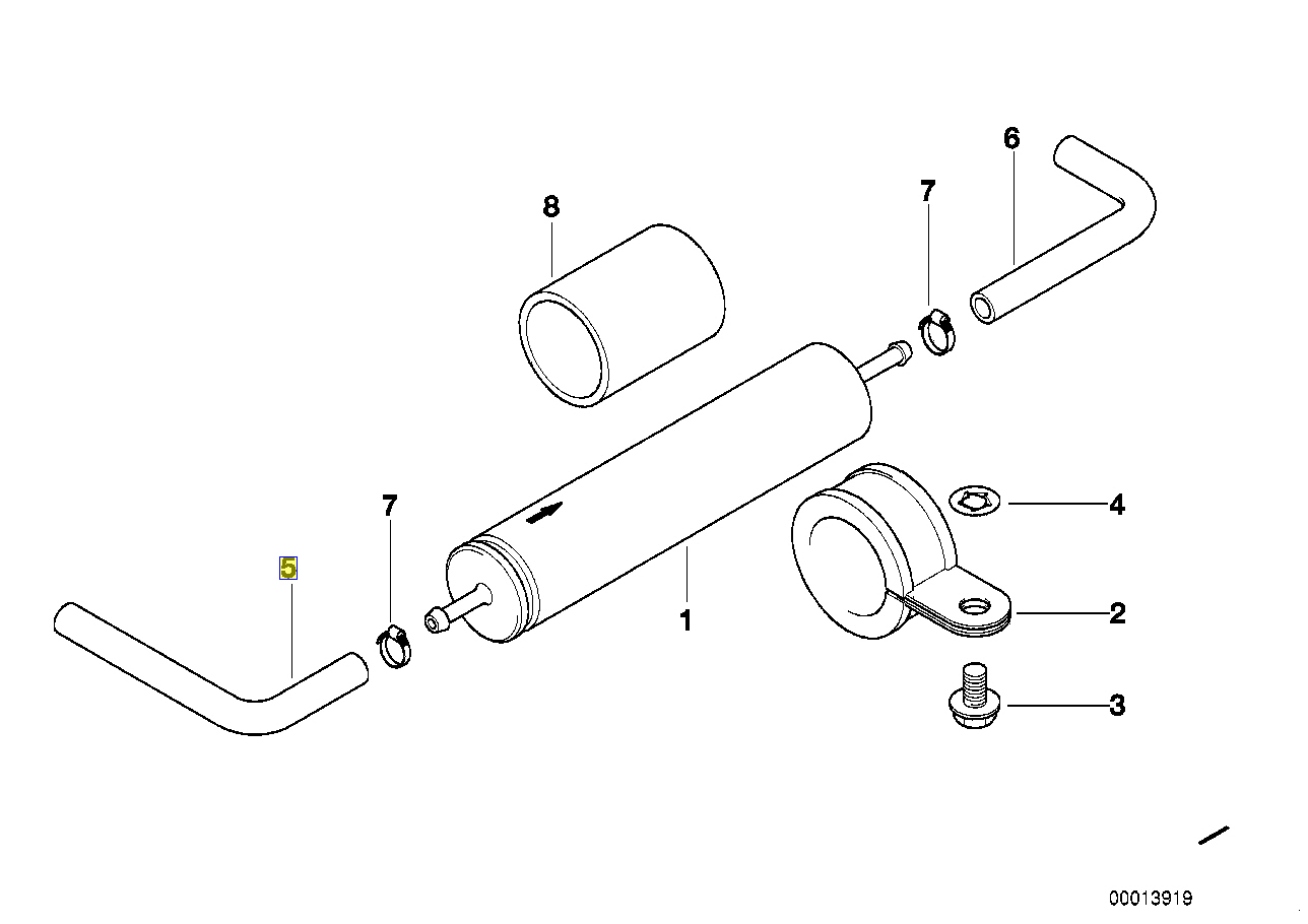 Bmw E46 Fuel Filter - Auto Electrical Wiring Diagram