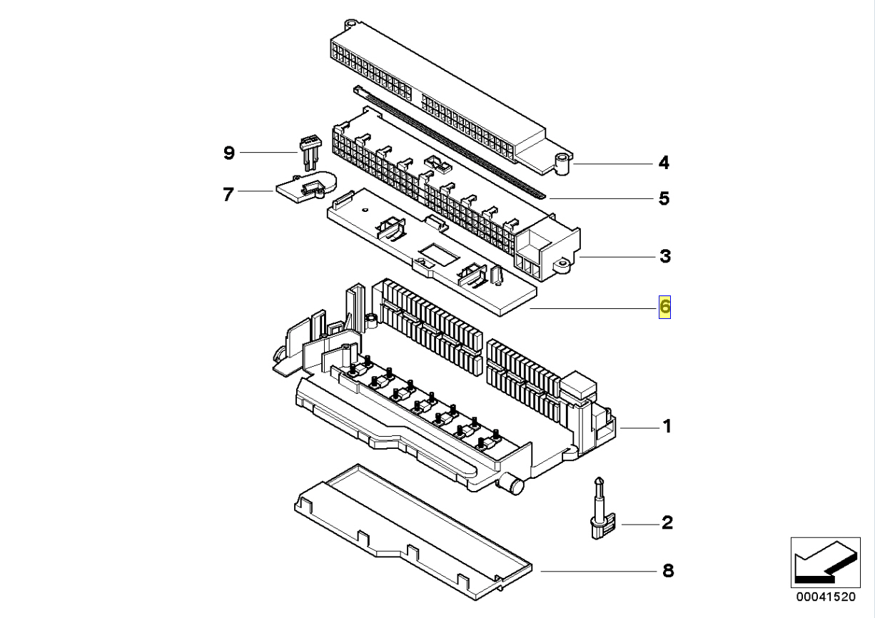 1996 Volvo 960 Wagon 6 Cyl Fuse Box Diagram