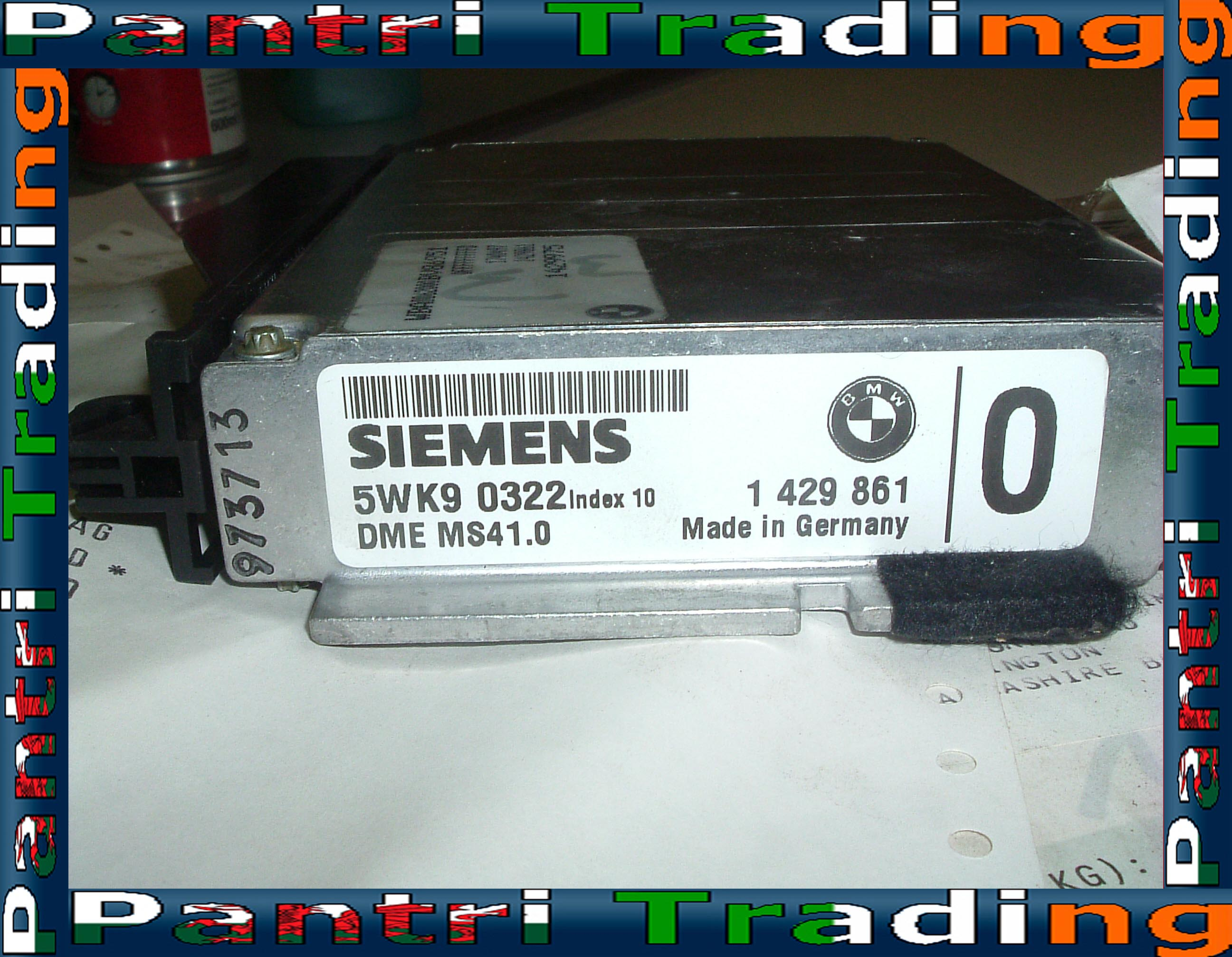 bmw m50 ecu wiring diagram audiobahn aw1251t m52 engine dme control unit module 1429861 ebay