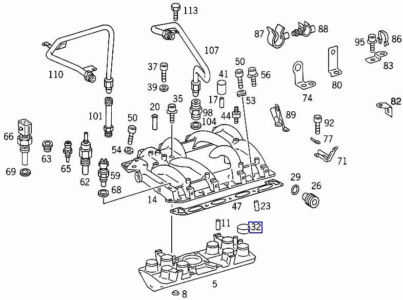 Mercedes M119 Engine Diagrams Mercedes M272 Engine Diagram