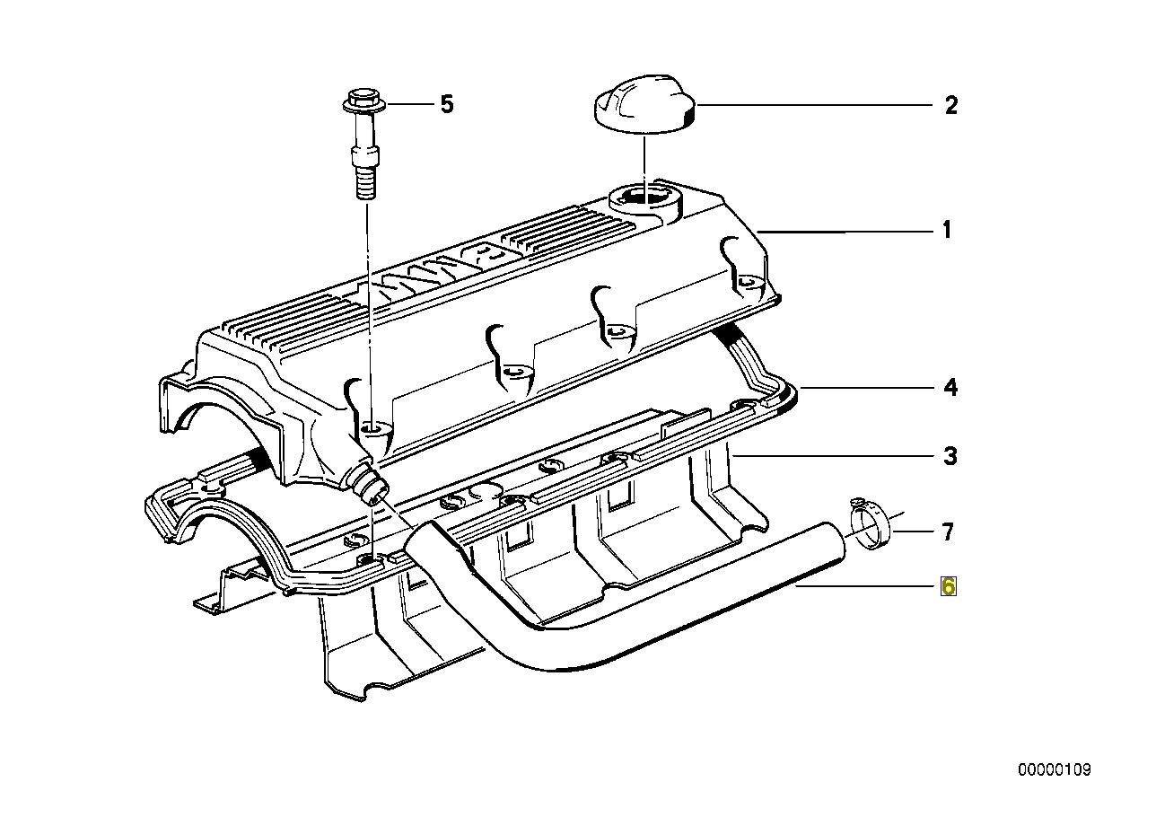 E39 Engine Cover