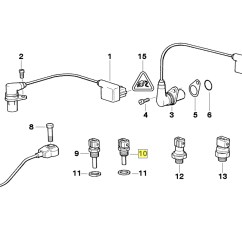 M14 Parts Diagram Danfoss Motor Starter Wiring Bmw M21 M30 M60 V8 Engine Coolant Temp Sensor 1288158