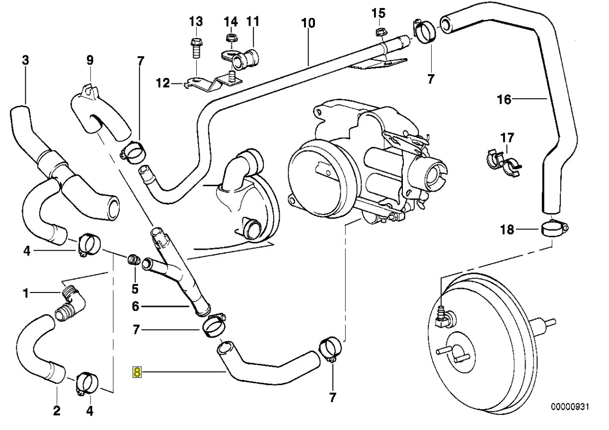 e46 alternator diagram 2007 club car precedent gas wiring n62 bmw serpentine belt brake master cylinder