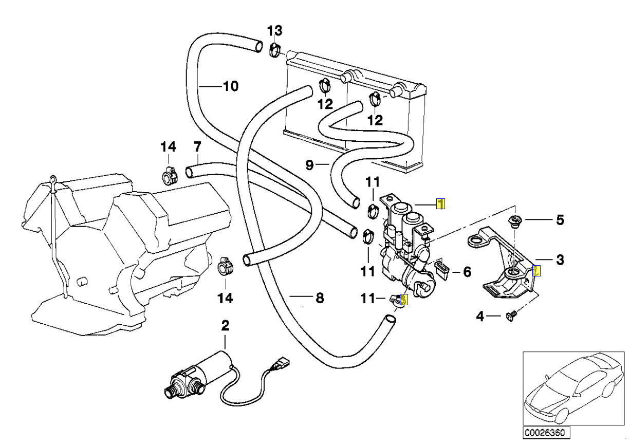Bmw E38 Engine Diagram