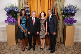 Obama, Niinistö