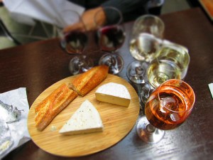 Acidic Foods cheese and wine