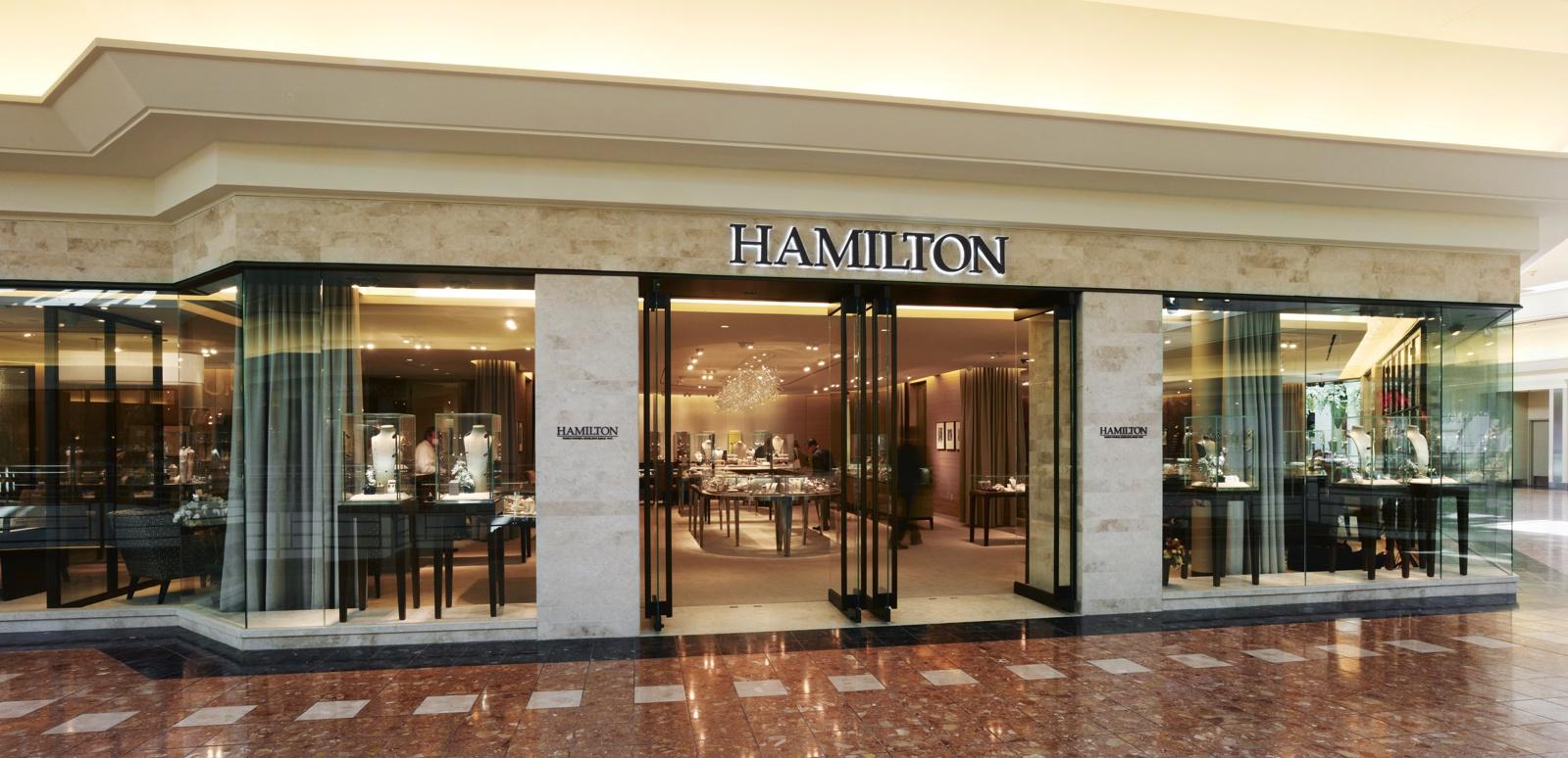 Hamilton Jewelers, storefront