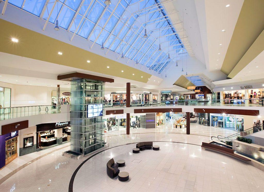 Southcentre Mall interior