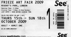 biglietto frieze