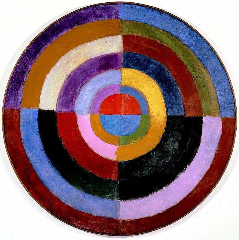 Robert Delaunay 1913 Premier Disque