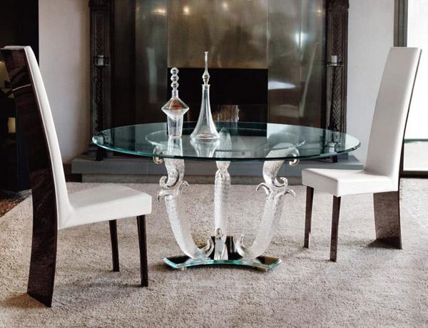 tavoli in cristallo allungabili idee per la casa e l