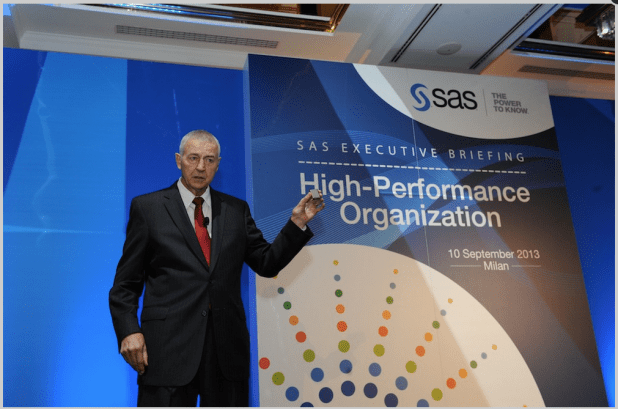Dr Goodnight - CEO of SAS