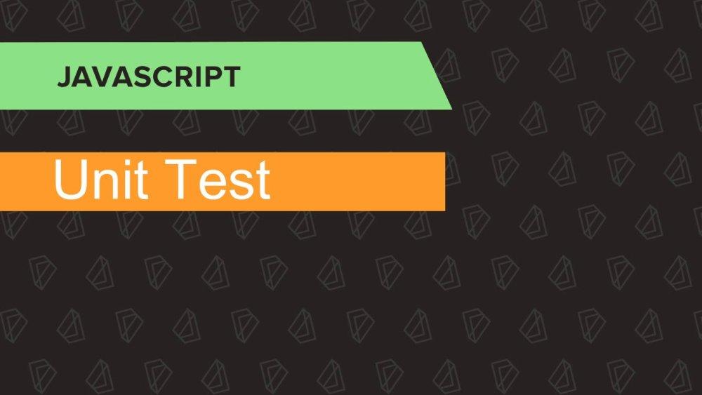 come scrivere i test in JavaScript