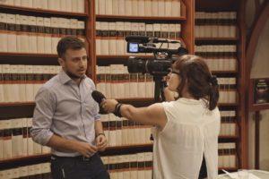 Marco Cassini intervistato alla Camera dei deputati