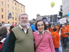 con Gianna Molla