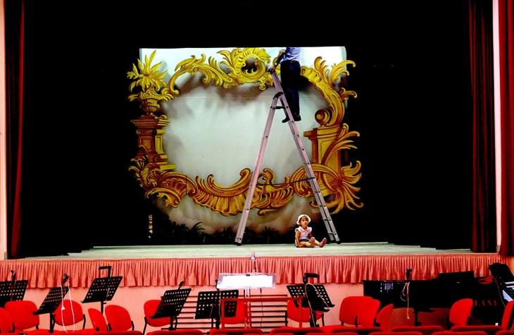 Teatro Verdi a Buscoldo (Mantova)