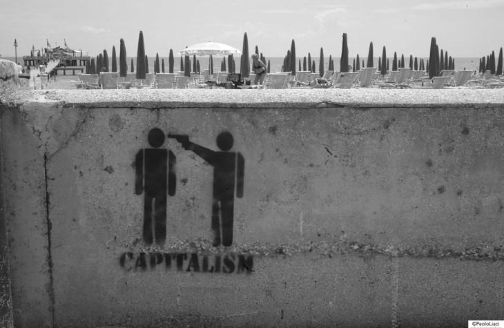 Capitalism Stencil