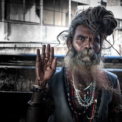 Indian Sadhu - Varanasi, India