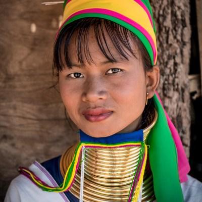 Kayan village, Myanmar
